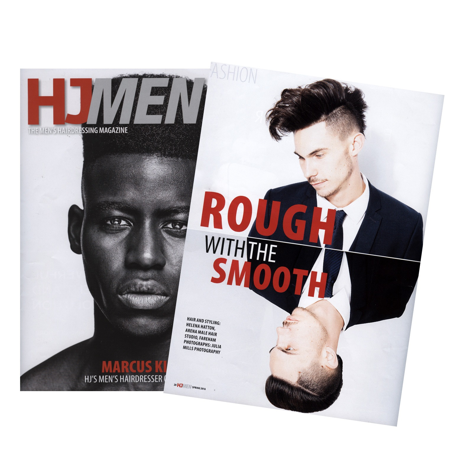 men's hairdressing journal mag 2016