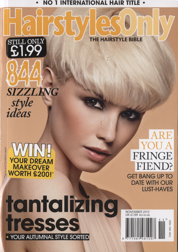 Hairstyles Only Magazine: Winter 2013 | Julia Mills Photography